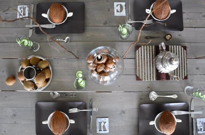 Consejos para decorar la mesa del comedor for Manteles individuales para mesa
