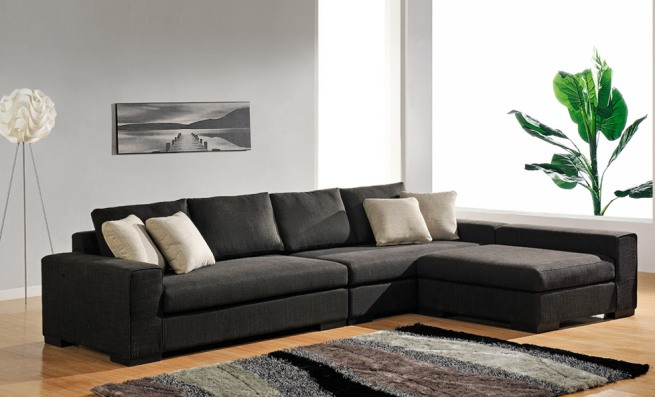 Decoraci n con sof s modulares for Sillones modulares