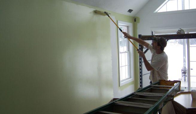 Pintura pl stica en el hogar for Pinturas plasticas para interiores