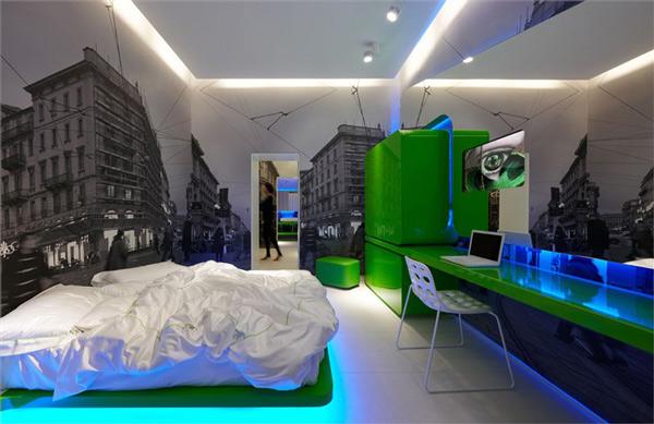 Dormitorios dram ticos con iluminaci n led - Iluminacion led para dormitorios ...