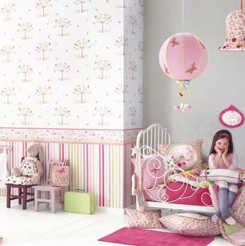 Papel pintado para dormitorios infantiles2 for Papel pintado para dormitorios
