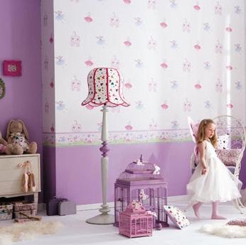 Papel pintado para dormitorios infantiles4 for Papel decorativo para habitaciones