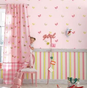 Papel pintado para dormitorios infantiles5 for Papel pintado para dormitorios