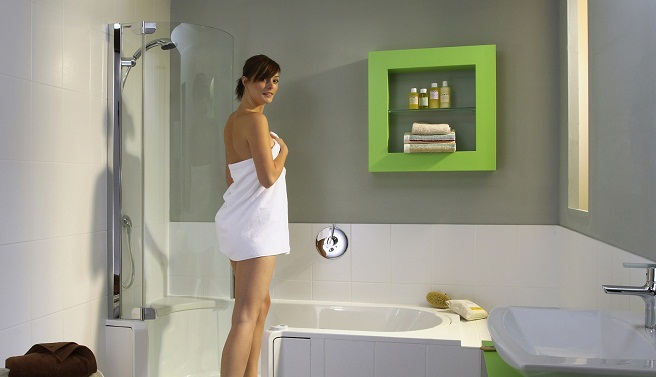 Renovar Baño Pequeno:Renovar el baño de una casa alquilada
