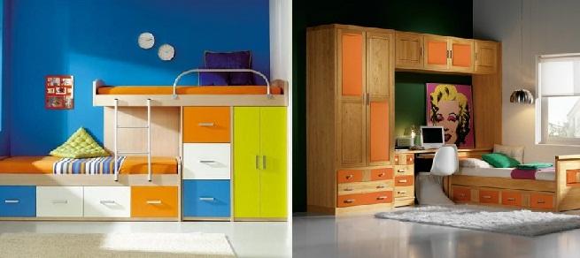 Consejos para elegir muebles juveniles - Muebles para habitaciones pequenas juveniles ...