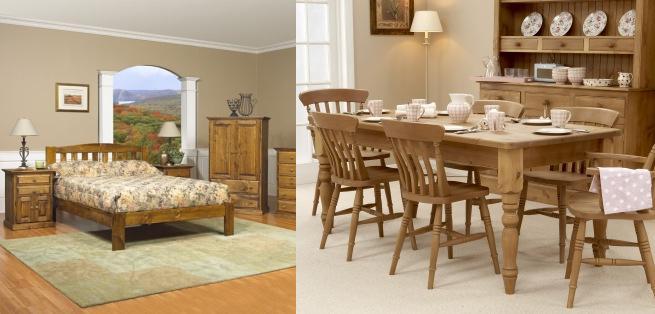 muebles de pino con: