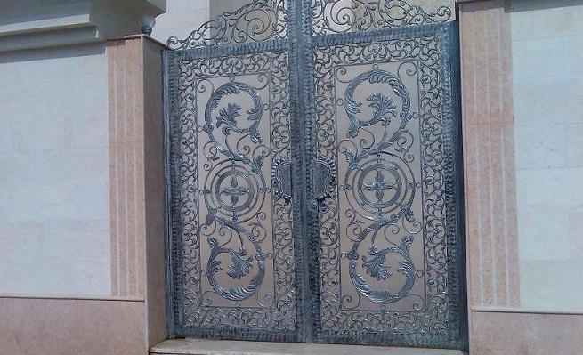 Puertas de hierro forjado - Rejas hierro forjado ...