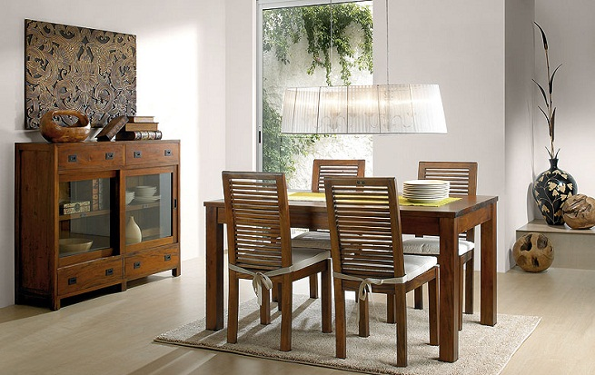 Tendencias en mesas de comedor 2012