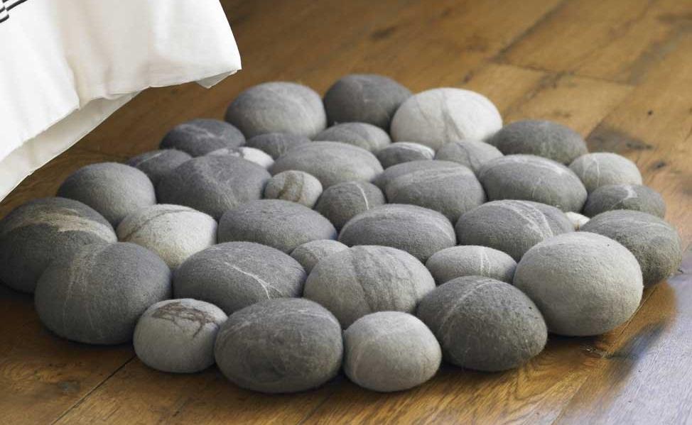 Alfombras que imitan la piedra for Tipos de alfombras