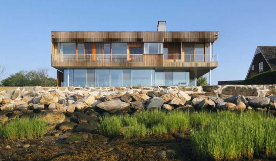 Casa de lujo en connecticut for Casa de lujo minimalista y espectacular con piscina por a cero