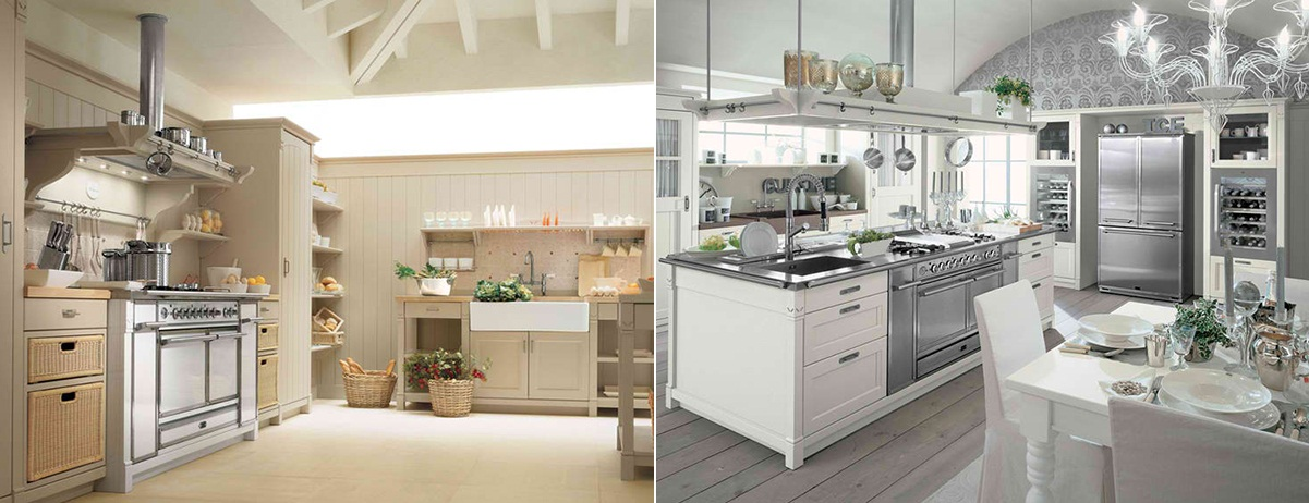 Cocinas campestres modernas por minacciolo for Cocinas para casas de campo