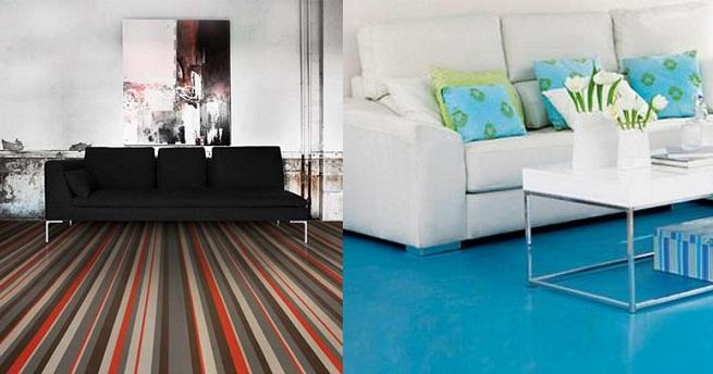 Decorar el suelo con pavimentos modernos - Suelos modernos ...