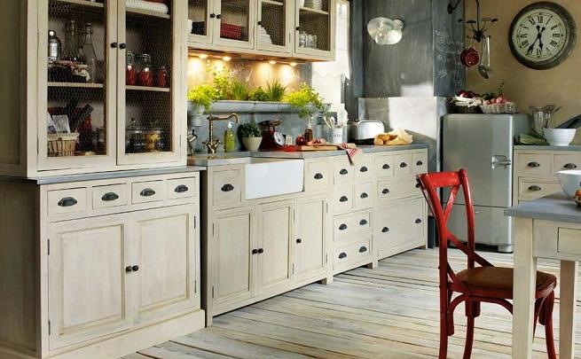 Decorar la cocina estilo vintage - Decorar cocina ...