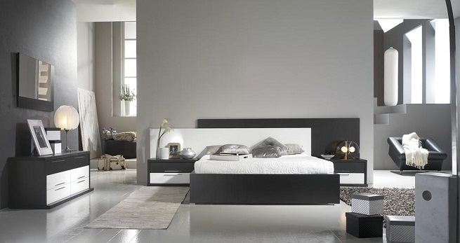 Tendencias en dormitorios modernos for Dormitorio vintage moderno