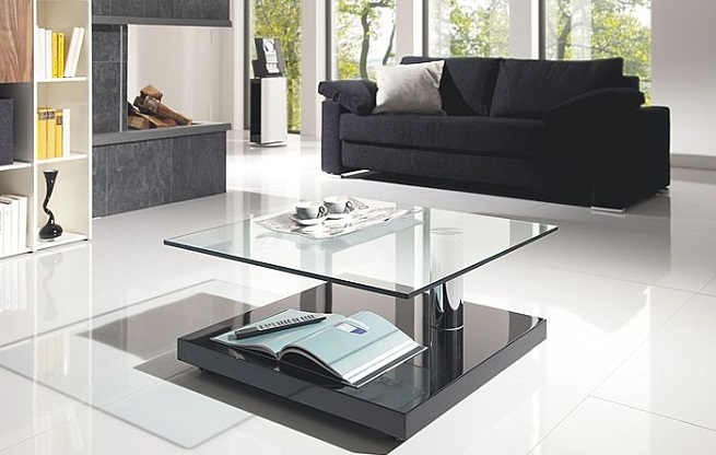 Tipos de mesas de centro para el sal n - Decorar una mesa de centro ...