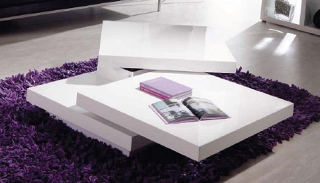 Tipos de mesas de centro para el sal n - Mesas centro salon ...