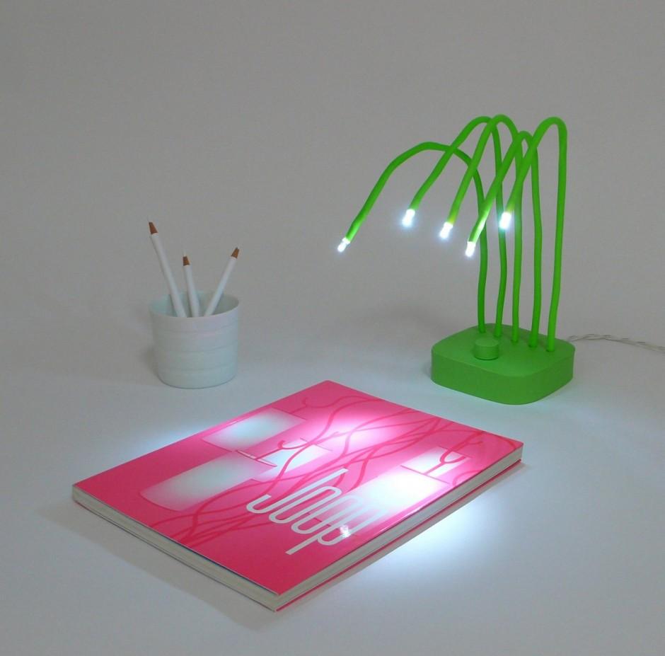 Lamparas Led Para El Baño:Lámpara LED para el escritorio (2/6)