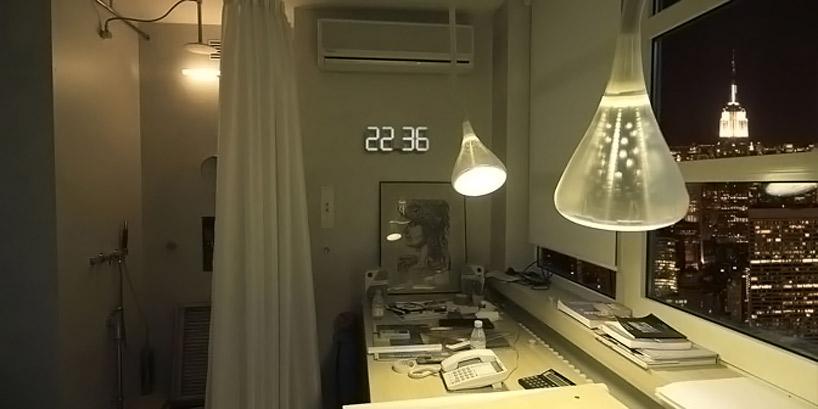 Reloj de pared digital - Reloj de diseno pared ...