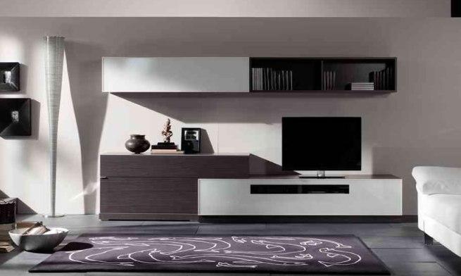 Consejos para decorar un sal n contempor neo - Como decorar mueble salon ...
