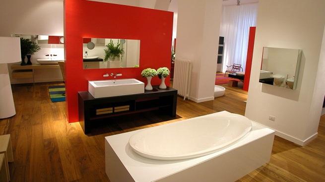 Decoración original en el cuarto de baño