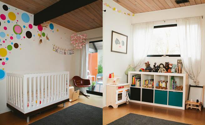 Una casa minimalista apta para niños
