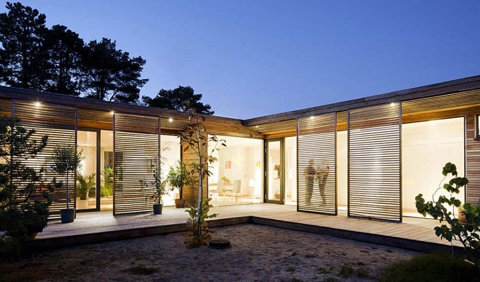 Casa moderna en Suecia