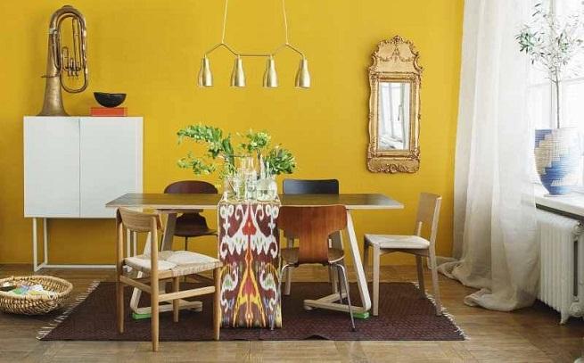 Decoraci Del Hogar Color Amarillo