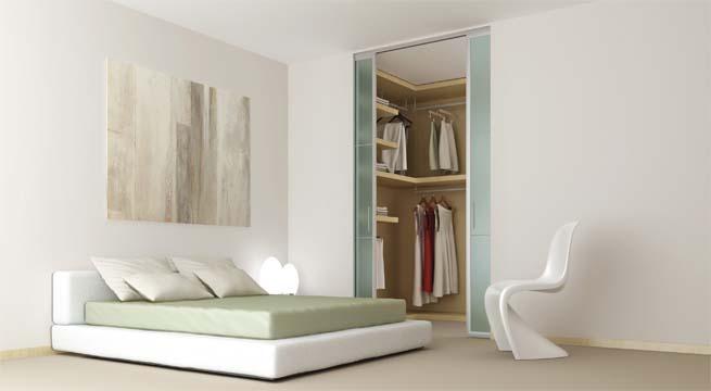 Baño Vestidor Moderno:Vestidores modernos con sistemas de Krona