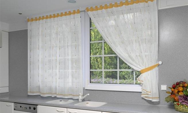 Visillos para la cocina Visillos para puertas