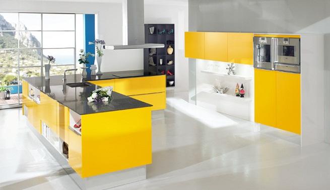Decorar una cocina en color amarillo - Colores para una cocina ...