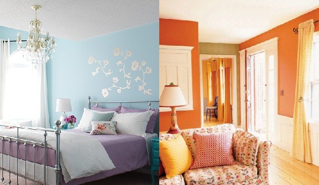 Colores para pintar tu casa en primavera for Colores claros para pintar una casa