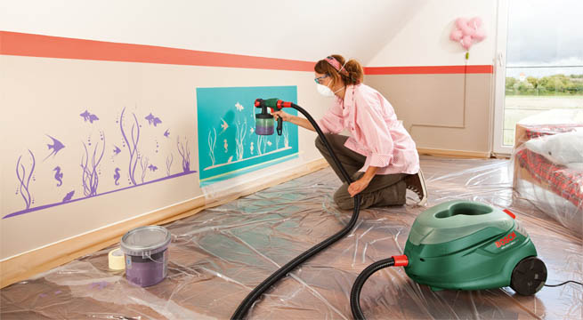 Decorar paredes m s f cil for Decorar paredes con pintura