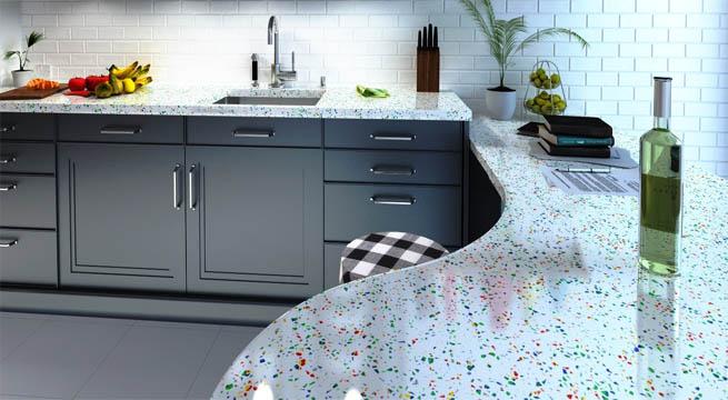 Encimeras tutti frutti for Colores de granito para cocinas blancas