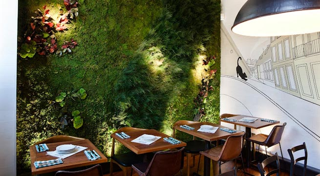 Jardines verticales para la pared for Fotos de jardines verticales