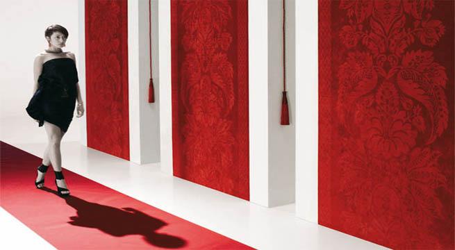 Paredes de tela de giardini - Telas para tapizar paredes ...