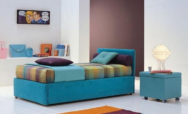 Pintar una habitaci n de dos colores for Como pintar una habitacion