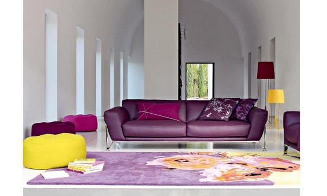 Sof s de colores tendencia en 2012 - Sofa de colores ...