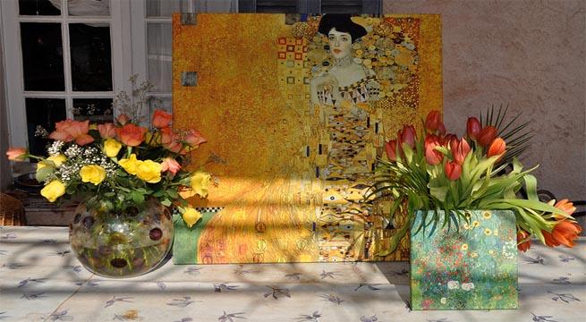 Decorar terrazas con cuadros - Como decorar una pared con cuadros ...