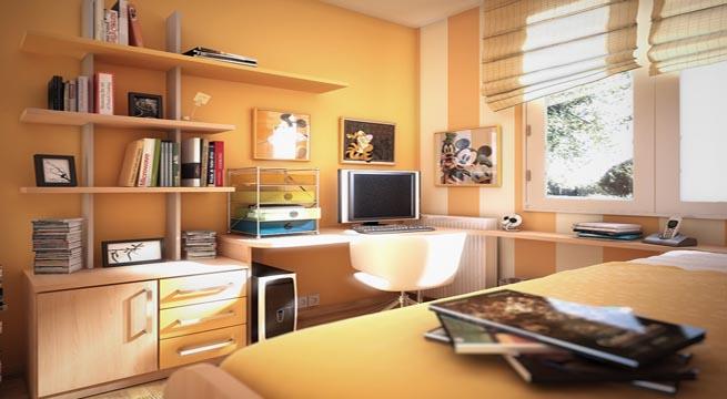 Habitaciones juveniles decoradas con rayas - Habitaciones decoradas modernas ...