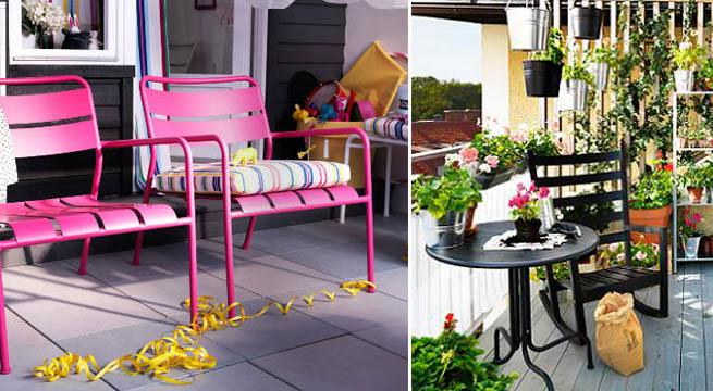 Decoracion Terrazas Ikea ~ Propuestas de Ikea para el verano