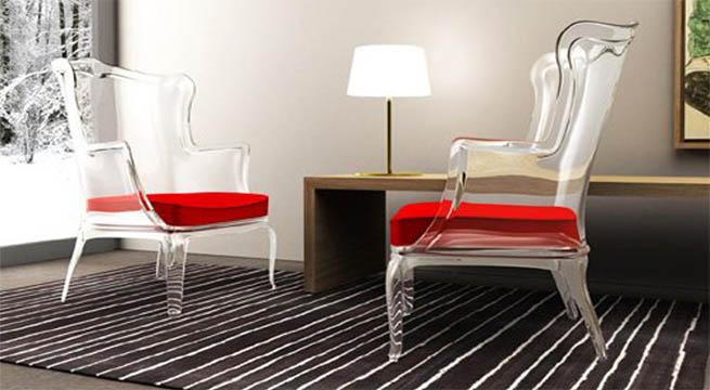 Decorar con muebles transparentes - Muebles de metacrilato ...