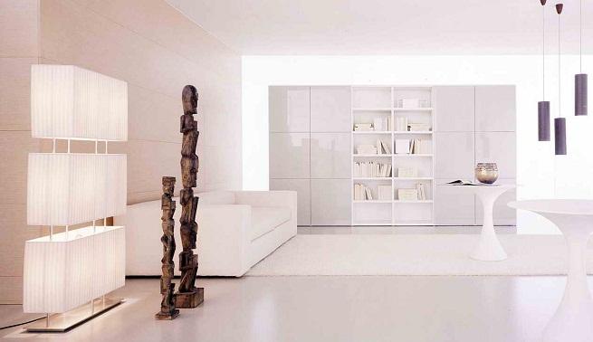 C mo decorar una casa pintada de blanco for Como elegir pintura para casa