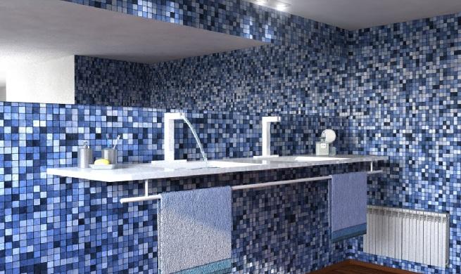 Azulejos Baño Gresite:Decorar con gresite