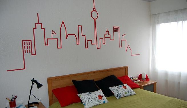 Decorar con la t cnica del estarcido - Tecnica para pintar paredes ...