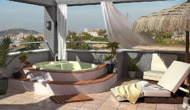 Decorar una terraza relajante for Ideas para decorar azoteas