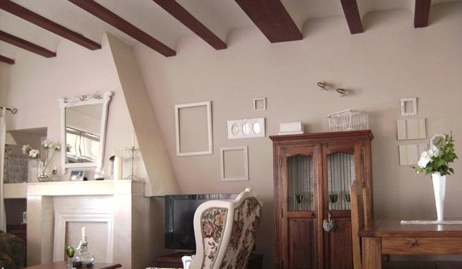 Vigas decorativas para el techo - Techos con vigas de madera ...