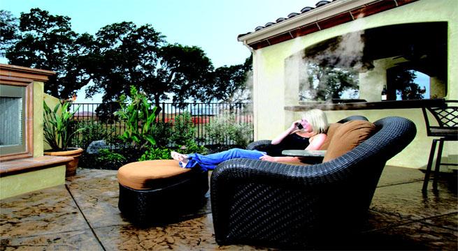 Refrescar el ambiente de la terraza for Kfc terrazas de mayo