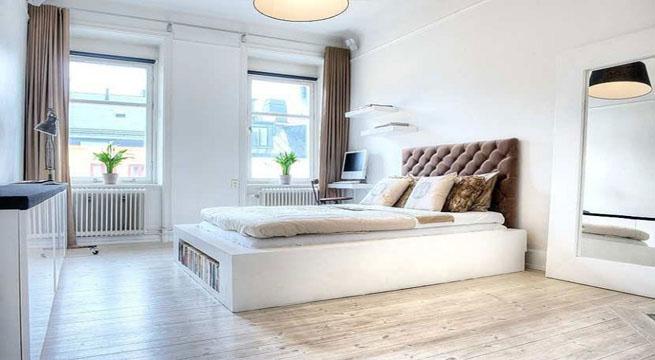 Peque o apartamento de estilo industrial for Habitacion decoracion industrial