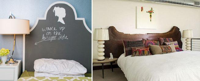 Cuatro cabeceros originales y f ciles - Cabeceros de cama originales pintados ...
