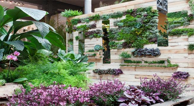El jard n vertical de fronda en casa decor for Fronda decoracion
